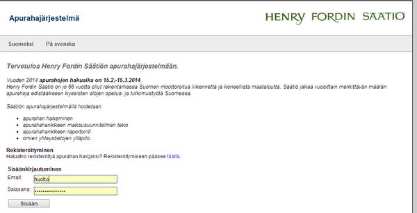 HenryFordSäätiö