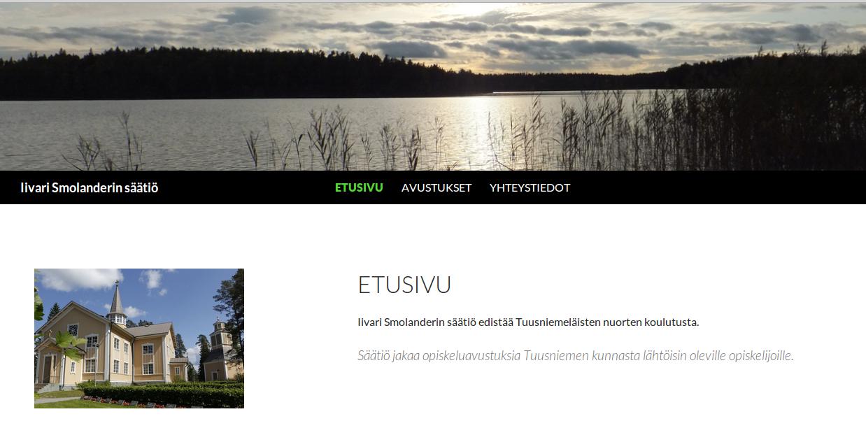 Iivari_homepage